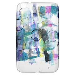 Background Color Circle Pattern Samsung Galaxy Tab 3 (8 ) T3100 Hardshell Case