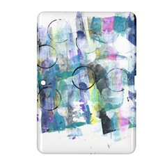 Background Color Circle Pattern Samsung Galaxy Tab 2 (10.1 ) P5100 Hardshell Case