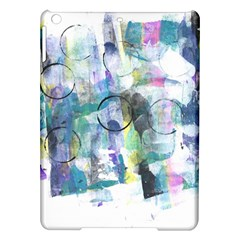 Background Color Circle Pattern iPad Air Hardshell Cases