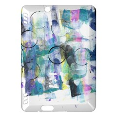Background Color Circle Pattern Kindle Fire Hdx Hardshell Case