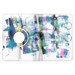 Background Color Circle Pattern Kindle Fire Hdx Flip 360 Case