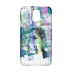 Background Color Circle Pattern Samsung Galaxy S5 Hardshell Case