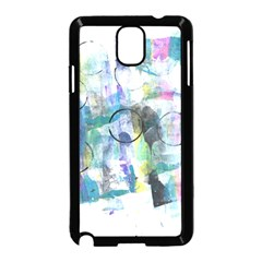 Background Color Circle Pattern Samsung Galaxy Note 3 Neo Hardshell Case (Black)