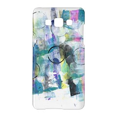 Background Color Circle Pattern Samsung Galaxy A5 Hardshell Case