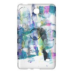 Background Color Circle Pattern Samsung Galaxy Tab 4 (8 ) Hardshell Case