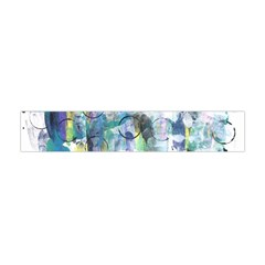 Background Color Circle Pattern Flano Scarf (Mini)
