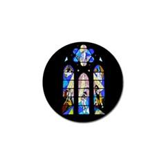 Art Church Window Golf Ball Marker