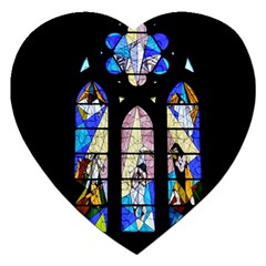 Art Church Window Jigsaw Puzzle (Heart)