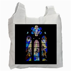 Art Church Window Recycle Bag (One Side)