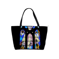 Art Church Window Shoulder Handbags