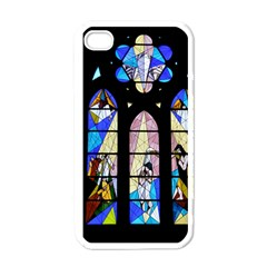 Art Church Window Apple iPhone 4 Case (White)