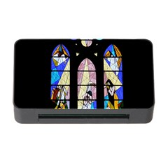 Art Church Window Memory Card Reader With Cf