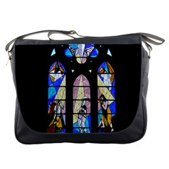 Art Church Window Messenger Bags