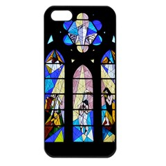 Art Church Window Apple iPhone 5 Seamless Case (Black)