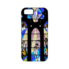Art Church Window Apple iPhone 5 Classic Hardshell Case (PC+Silicone)