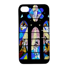 Art Church Window Apple iPhone 4/4S Hardshell Case with Stand