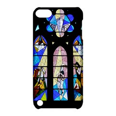 Art Church Window Apple iPod Touch 5 Hardshell Case with Stand