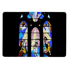Art Church Window Samsung Galaxy Tab 10.1  P7500 Flip Case