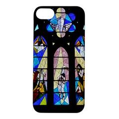 Art Church Window Apple iPhone 5S/ SE Hardshell Case