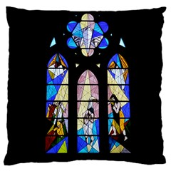 Art Church Window Standard Flano Cushion Case (One Side)