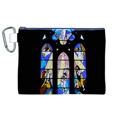 Art Church Window Canvas Cosmetic Bag (xl)