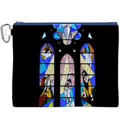 Art Church Window Canvas Cosmetic Bag (XXXL)