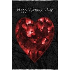 Dark Elegant Valentine Day Poster 5.5  x 8.5  Notebooks