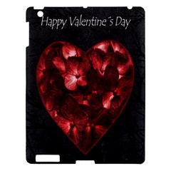Dark Elegant Valentine Day Poster Apple iPad 3/4 Hardshell Case