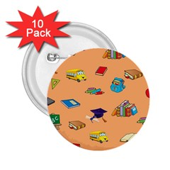 School Rocks! 2.25  Buttons (10 pack)