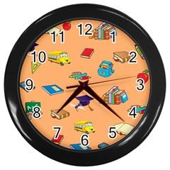 School Rocks! Wall Clocks (Black)