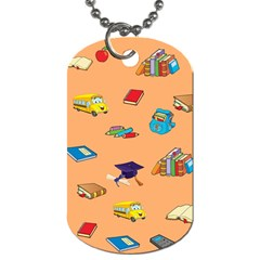 School Rocks! Dog Tag (One Side)