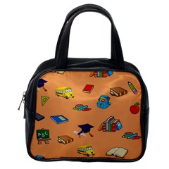 School Rocks! Classic Handbags (One Side)