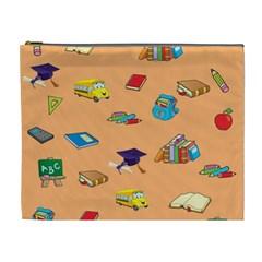 School Rocks! Cosmetic Bag (XL)