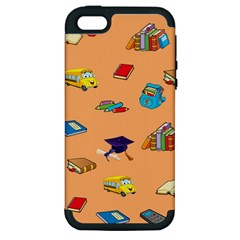 School Rocks! Apple iPhone 5 Hardshell Case (PC+Silicone)