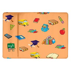School Rocks! Samsung Galaxy Tab 10.1  P7500 Flip Case