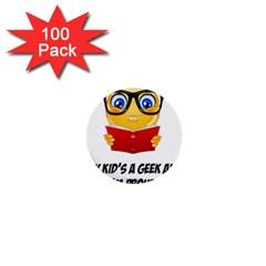 Geek Kid 1  Mini Buttons (100 pack)