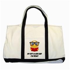 Geek Kid Two Tone Tote Bag