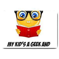 Geek Kid Large Doormat