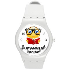 Geek Kid Round Plastic Sport Watch (M)