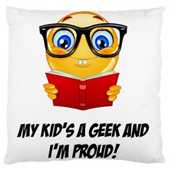 Geek Kid Large Cushion Case (Two Sides)
