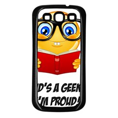 Geek Kid Samsung Galaxy S3 Back Case (Black)