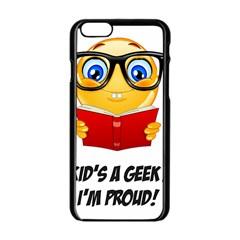 Geek Kid Apple iPhone 6/6S Black Enamel Case