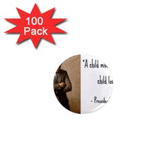 A Child is Miseducated... 1  Mini Magnets (100 pack)
