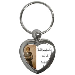 A Child is Miseducated... Key Chains (Heart)