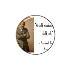 A Child is Miseducated... Hat Clip Ball Marker (10 pack)