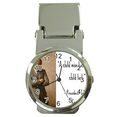 A Child is Miseducated... Money Clip Watches