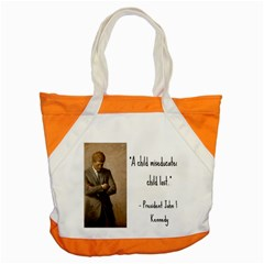 A Child is Miseducated... Accent Tote Bag