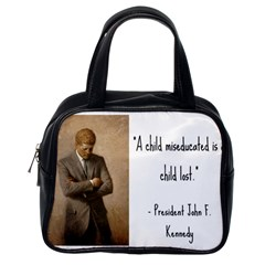 A Child Is Miseducated    Classic Handbags (one Side)