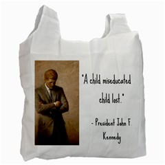 A Child is Miseducated... Recycle Bag (One Side)