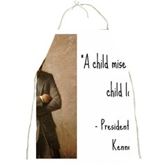 A Child is Miseducated... Full Print Aprons